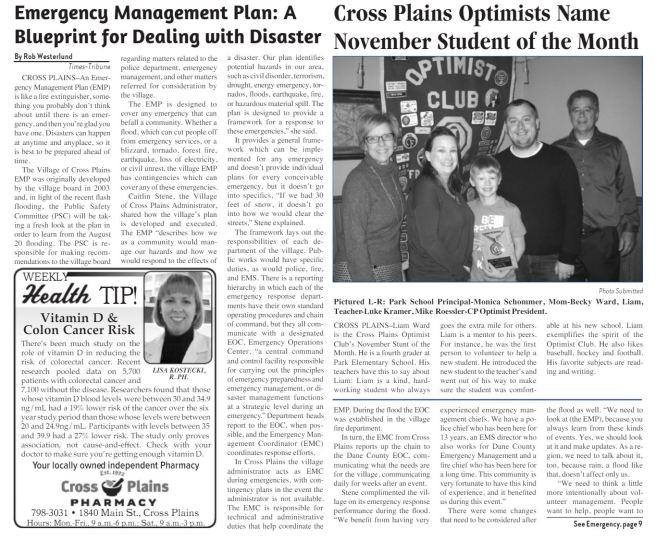 cp emergency management plan