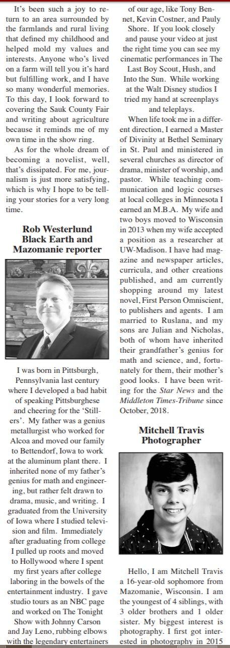rob westerlund bio - star news